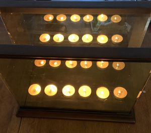 Partylite Infinite Reflections Mirrored Candle Holder for Sale in Old Town Manassas, VA