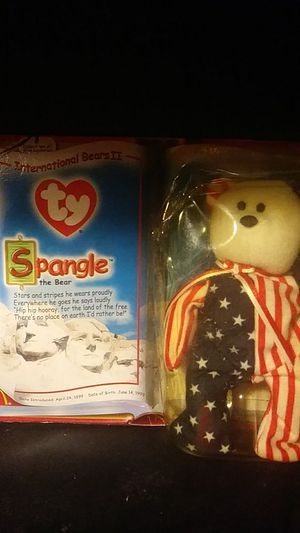 Original Ty Spangle The Bear Beanie Baby for Sale in East Windsor, NJ