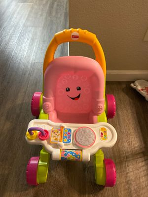 Fisher-Price Laugh & Learn Stroll and Learn Walker for Sale in Vallejo, CA