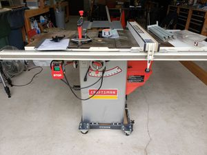 Craftsman Professional Table Saw for Sale in Lacey, WA