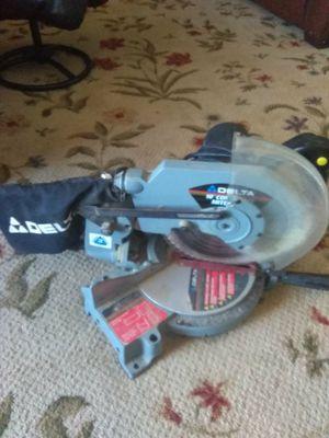 """Delta 10"""" compound miter saw for Sale in Alexandria, VA"""