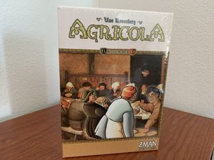 AGRICOLA BELGIUM DECK Board Game Expansion (Z-Man Games) - RARE & Out of Print - BRAND NEW in SHRINK! for Sale in Las Vegas, NV