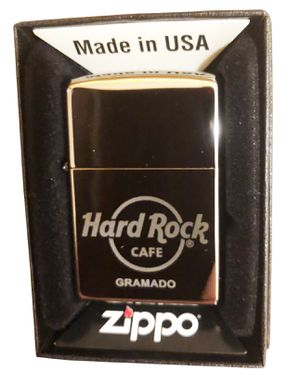 Hard Rock Cafe GRAMADO Collectible ZIPPO Lighter for Sale in Round Lake, IL