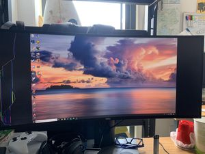 Curved 4K dell monitor for Sale in San Diego, CA