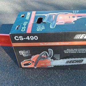 "ECHO CS-490 Chainsaw 20"" for Sale in Scottsdale, AZ"