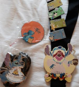 Disney Stitch morning coffee jumbo pin. for Sale in Oakland Park, FL