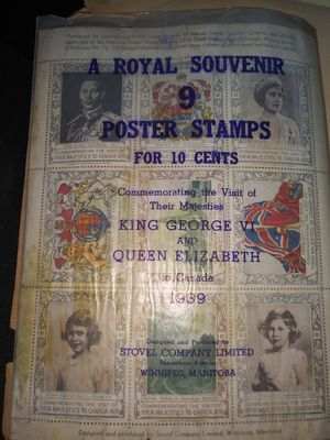 9 royal souvenir stamps make an offer for Sale in Bakersfield, CA