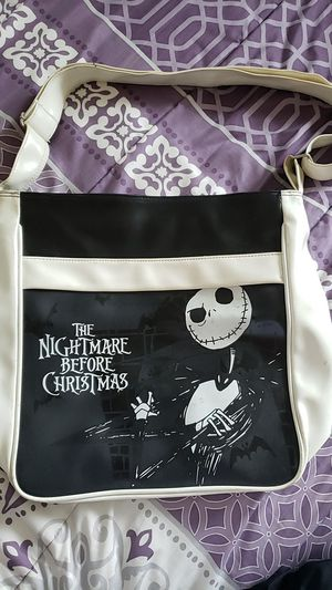 The Nightmare Before Christmas purse bag. Used. Usable. Disney brand. for Sale in Vista, CA