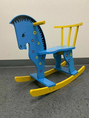 Brand new in box $20 each wooden rocking horse ride on kids toy baby toddler age 2+ for Sale in Whittier, CA