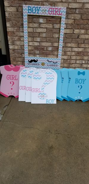 Gender reveal decorations for Sale in Providence, RI