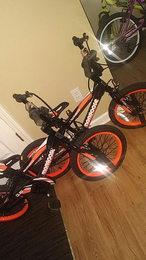 Just Like New 2 Mongoose Bike's 4-7 Years Old for Sale in Stonecrest, GA