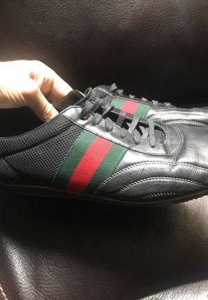 Us size 12.5 gucci sneakers. 100 % authentic for Sale in Denver, CO