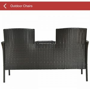 Patio Rattan Conversation Set with Table for Sale in Maryland City, MD