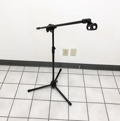 (New In Box) $15 Microphone Boom Stand Mic Clip Holder Studio Arm Adjustable Foldable Tripod for Sale in Whittier,  CA