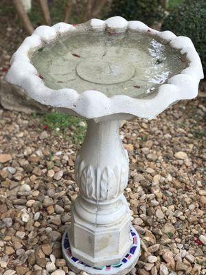 Bird Bath Water Fountain for Sale in New Braunfels, TX
