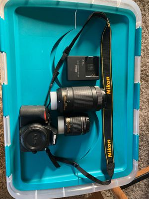 Nikon d560 for Sale in Federal Way, WA