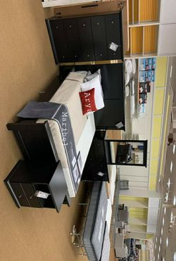 🔥Best Price Brand🆕️ Maribel Black Panel Bedroom Set byAshley for Sale in Annandale,  VA