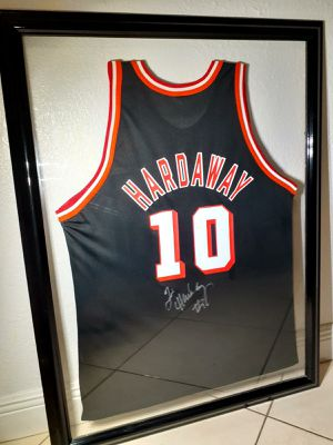 Hardaway signed official Jersey for Sale in Miami, FL