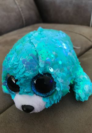 "8"" TY beanie babies waves sequence stuffed animal$8 for Sale in Menifee, CA"
