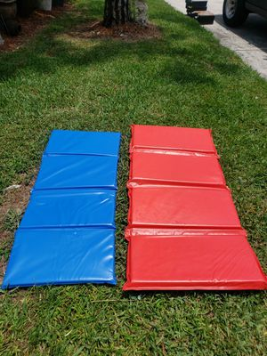 2 EXERCISE MATS 10 and 15 for Sale in Boca Raton, FL