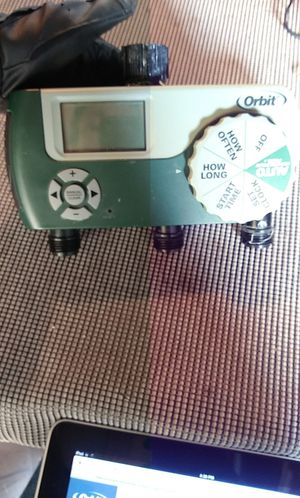 Digital 3 outlet sprinkler timer for Sale in Holland, MI