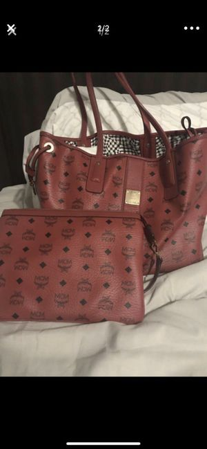 MCM Bag and clutch for Sale in Phoenix, AZ