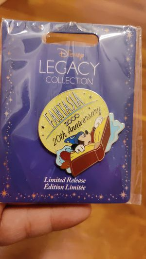 Disney legacy collection Fantasia 2000 20th anniversary limited edition pin for Sale in Queens, NY