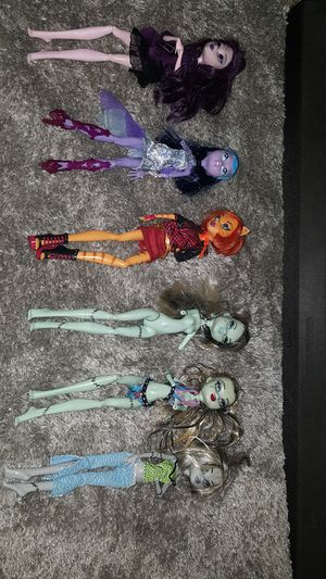 Incomplete monster high dolls for Sale in Manteno, IL
