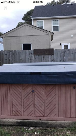 Jacuzzi/hot tub for Sale in Norfolk, VA