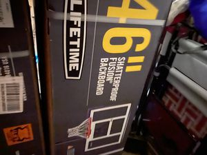 Lifetime 46 inch basketball portable hoop for Sale in Grove City, OH