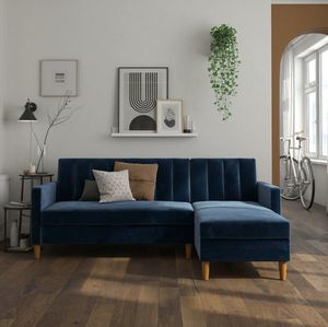 Like New Reversible Futon Sleeper Sectional From WayFair for Sale in Los Angeles, CA