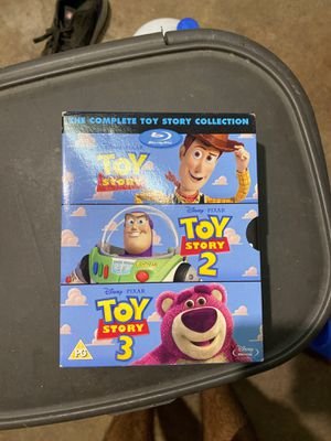 The Complete Toy Story Collection Blu Ray for Sale in Chula Vista, CA