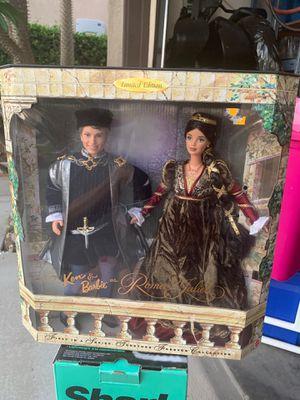 1997 VINTAGE BARBIE & KEN AS ROMEO & JULIET COLLECTORS ITEM for Sale in Fontana, CA
