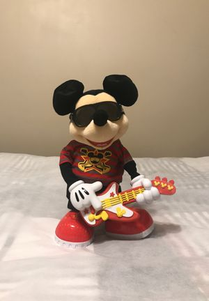 Disney 2016 Mickey Mouse Rockstar Action Figure for Sale in Holly Springs, NC