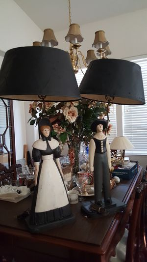 Antique Vintage Pilgram Lamps(2) for Sale in Livermore, CA