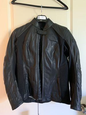 Ladies leather motorcycle jacket for Sale in Paris, VA