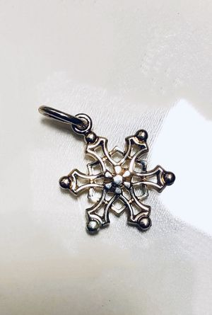 Tiffany & Co 925 Sterling Silver Snowflake Charm for Sale in Atwater, CA