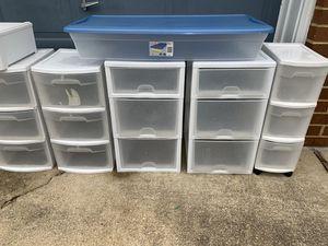 Plastic containers for Sale in Chesapeake, VA