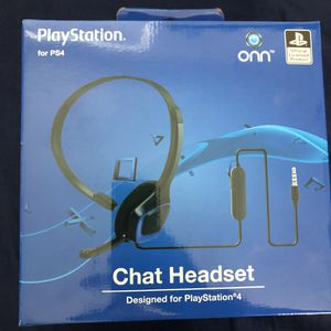 PlayStation Chat Headset for PS4 for Sale in Chino, CA