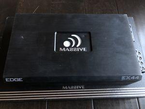 Massive 4/2 channel Amp 800 watts for Sale in Houston, TX