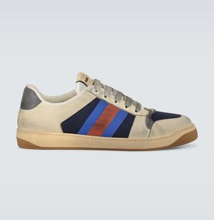 Gucci Screener Size 11 US Blue/Red/Cream Used 3 times! For sale! for Sale in Tacoma, WA
