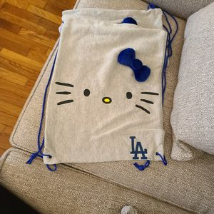 LA DODGERS Hello Kitty BackPack for Sale in Los Angeles, CA