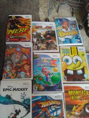 Wii, Xbox 360, Nintendo 3DS games for Sale in Akron, OH