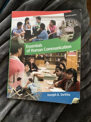 Essentials of human communications 7th edition for Sale in Danbury, CT