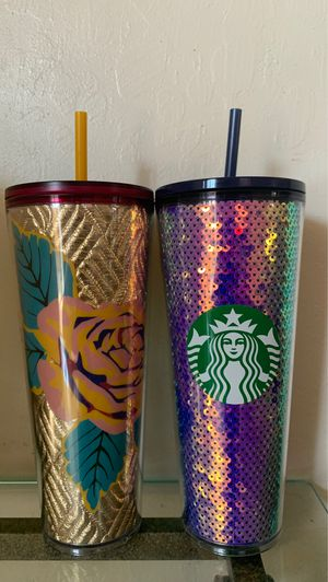 Collectible Starbucks tumblers for Sale in San Jose, CA