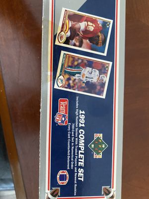 1991 NFL complete set for Sale in Lorain, OH