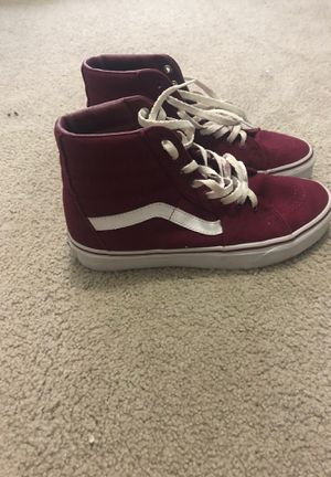 Red high tops vans for Sale in Lexington, KY