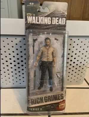 McFARLANE TOYS, The Walking Dead, Rick Grimes action figure. for Sale in Stockton, CA