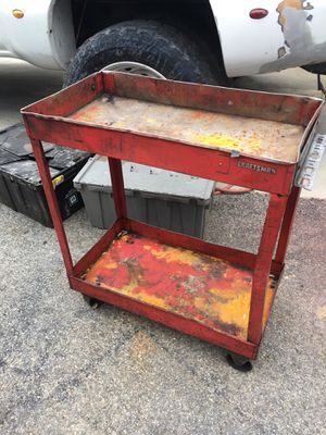 Craftsman tool cart and Snap On cabinet for Sale in Hughesville, MD