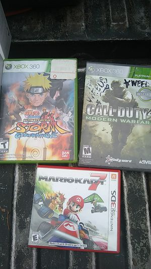 Miscellaneous Xbox 360 games and a Nintendo 3DS for Sale in Pacific, WA
